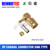 New Arrival SMA Male Right Angle RF Coaxial Connector for RG58u Cable
