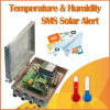 Humidity SMS Solar Alert Controller