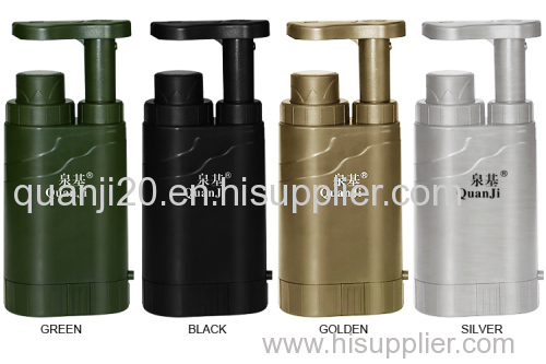 Multifunction Mini Portable Water Filter For Outdoor/ Outdoor Water Purifier