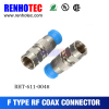 compression f connector rg6 coaxial cable assembly
