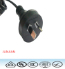 SAA approval 3 pins 10A 250V AC Power Cord Australia