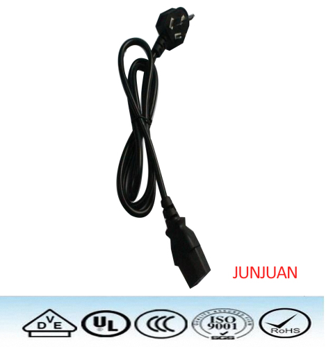 3C standard power plug cable