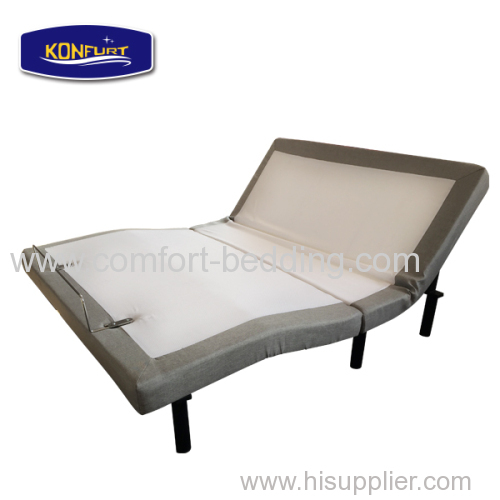 New style knock down adjustable bed electric bed