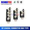 R/A Female PCB BNC Patch Panel Two Three Four in One Row BNC Connector