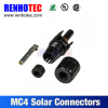 MC4 plug solar panel cable connector