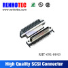 High-end smt power connector scsi male connector