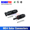 tuv approved male female MC4 solar connector pv cable connector