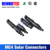 Good quality MC4 T- Branch Solar connector 2 in 1 branch MC4 for solar power system