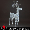 outdoor christmas lights with reindeer design