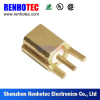 RF connector jack MCX connector surface mount