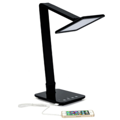 Color Temperature Adjustable LED Portable Bed Reading Light Table Lamp