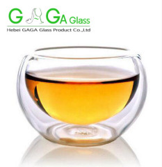 double wall glass cups 200ml