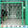 diamond security portable galvanized interlinking mesh fence panel