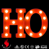 Letter design christmas lights battery operated