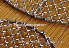 High Temperature Resistant Pre Crimped Wire Mesh Barbecue Grill Netting With Square Hole