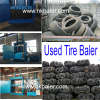 Used Tire recycling baler with Competitive price