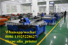 digital flatbed printer 8x4ft uv flatbed printer/PVC partition printer with varnish
