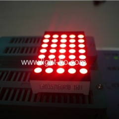 "1.5"" Ultra Bright Red 3mm 5 x 7 Dot-matrix LED Display for digital position indicator"