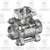 3PC Threaded ball valve