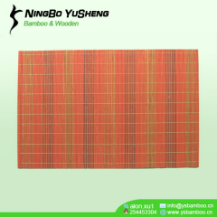 solid color morden bamboo placemat