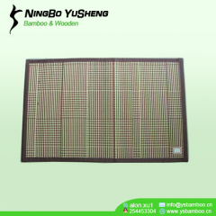 Bamboo Woven table placemats brown color