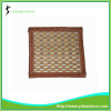 Weaving design bamboo cup mat