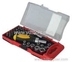 35PCS TOOL SET SOCKET SET