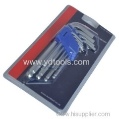 9PCS HEX WRENCH SET TOOL