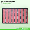 Fashion weaving design bamboo door mat
