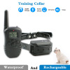 Rechargeable Electric Remote 300 Meters Control Static Shock Vibrating Big Dog Training Collar with Adjustable TUP strap