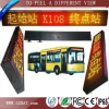 High digital P7.62 led sign board bus route number