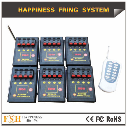 Liuyang Happiness 24 channels CE passed remote fireworks firing system China supplier