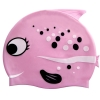 Cartoon Silicon Swimming Cap for Children