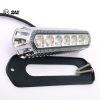 "18W 5.5"" ECE R65 SAE J845 LED Strobe Warning Light Chrome Plating Housing"