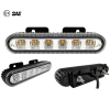 "18W 5.6"" ECE R65 Approved Universal Mount LED Strobe Warning Light Head"