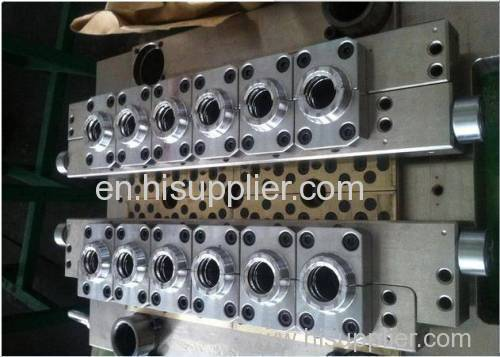 SC 12 Cavity 30mm Hot Runner /Hot Plate PET Preform Mold/Mould/Die