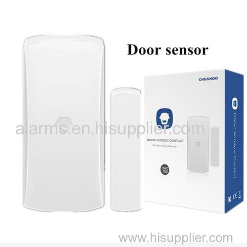 Cheap home security intruder detectors wireless Magnetic door/ window sensor for Chuango GSM Alarm System G5/ B11/ G3