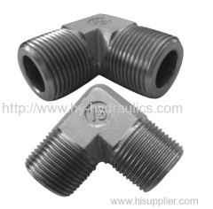 90 degree elbow BSPT male hydraulic adapter 1T9-SP