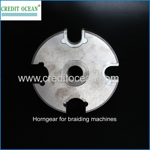 CREDIT OCEAN braiding head with block guiding of braiding machines spare part