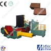 metal shavings scrap press baler