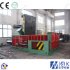 Big car cutting metal scrap baler