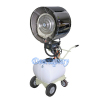 Deeri Industry oscillating pedestal mist water spray centrifugal blower ventilator draught fan