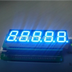 Ultra blue 5 digit seven segment led display 0.56inch common cathode for digital weighing scale indicator