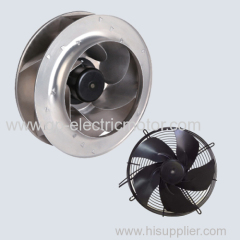 Clean room centrifugal fan