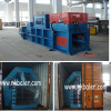 Waste paper bales press banding machine