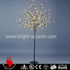 LED artificial tree for outdoor use
