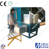 Wood shaving recycling press machine