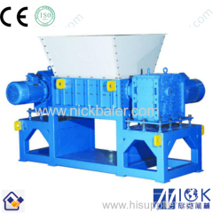 double-shaft shredder recycling machine