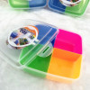 Multi-function food box Fruit box snack box lunch box square shape manufacturer