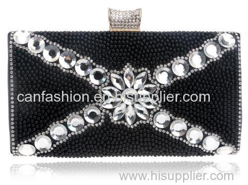 Crystal Evening Clutch Bag Purse Handbag Shoulderbag Wedding Bridal Bag Accessories
